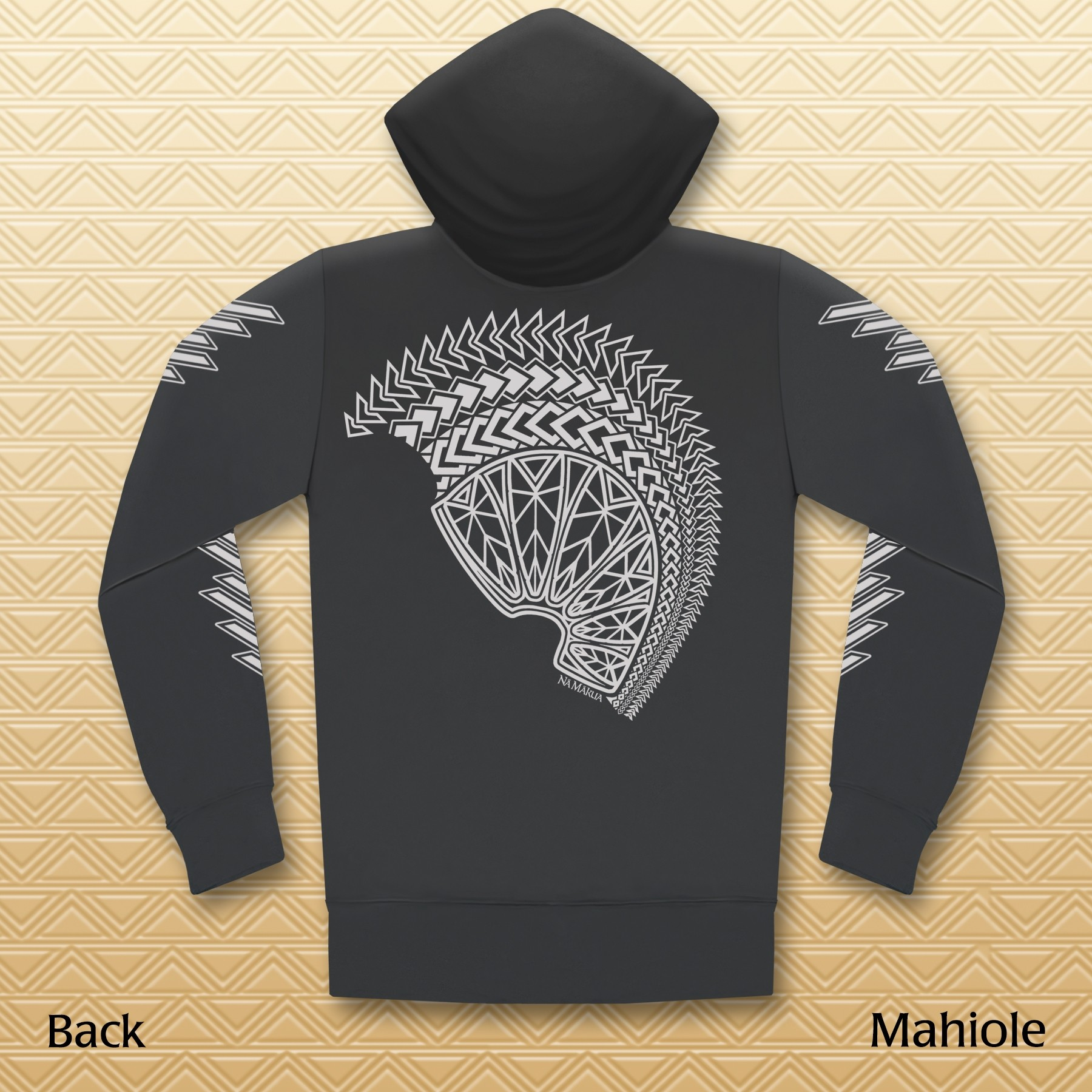Mahiole Zipper Hooded Jacket