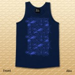 Aku Tank Top - Navy