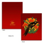 Manu 'O'o Note Cards - Red
