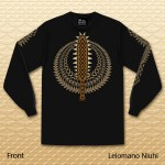Leiomano Niuhi Long Sleeve - Black
