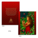 Lehua 'I'iwi Merrie Monarch Note Cards