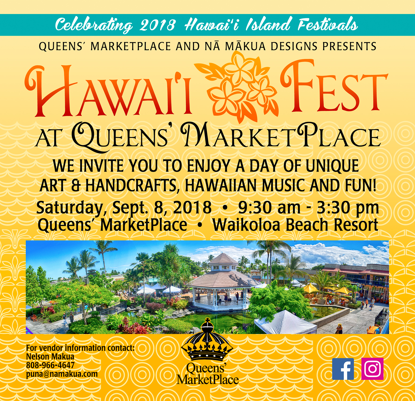 Hawai'i Fest at Queens' Marketplace
