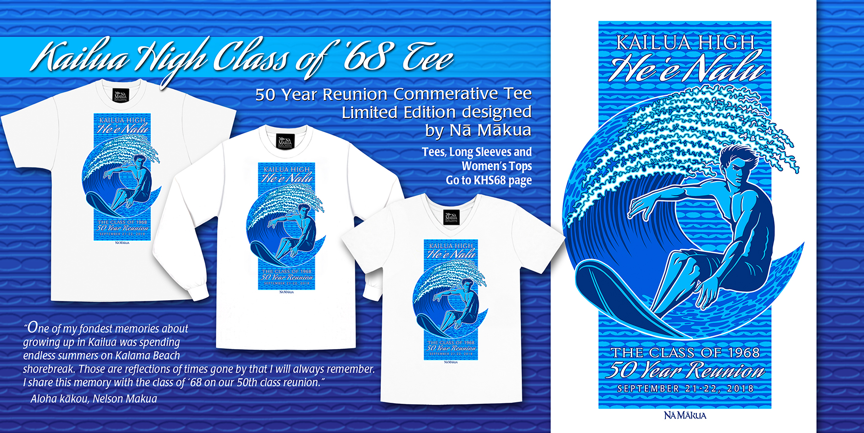 Kailua High School 68 Reunion Homepage