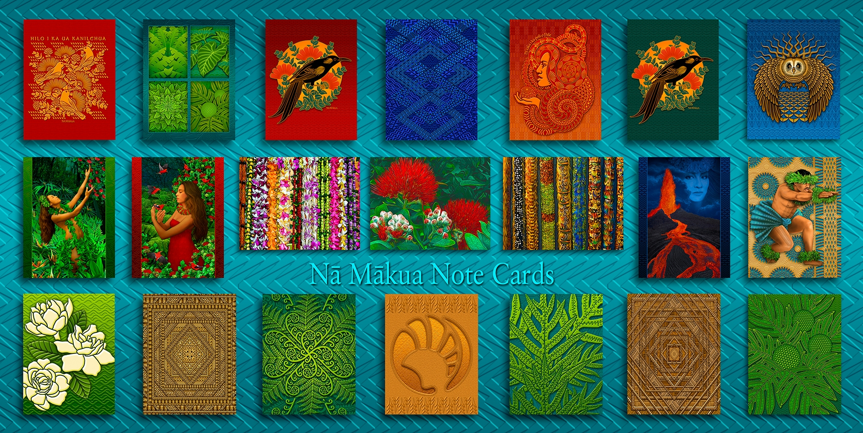 Na Makua Notecards Homepage