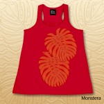 Monstera Racerback Tank