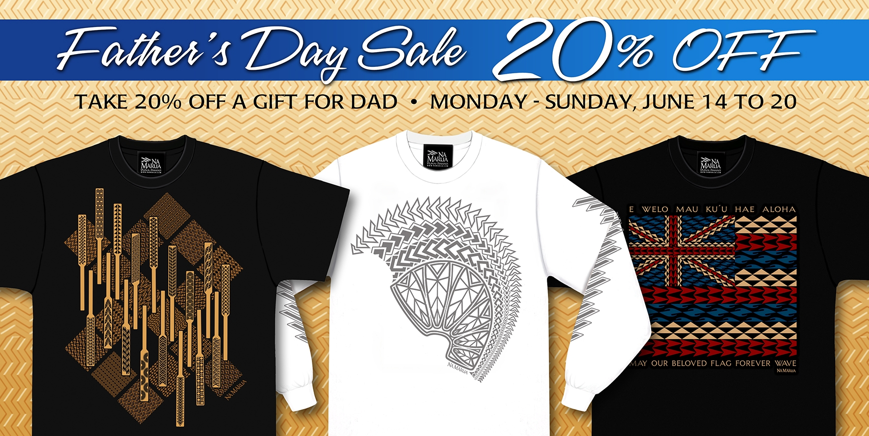 Fathers Day Sale Homepage